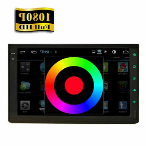 """Android GPS Navigation Player Double Din 7"""""""