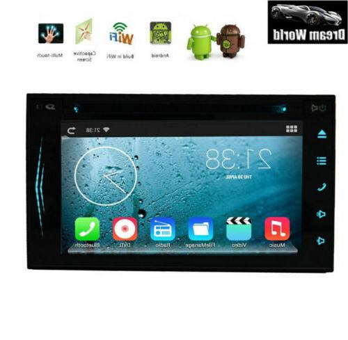 """Android OS Car Stereo GPS Navigation Bluetooth Player Double WIFI 7"""""""