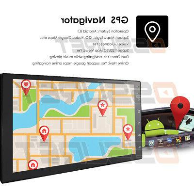 Android OS Stereo GPS Navigation Radio Player Din WIFI 7""
