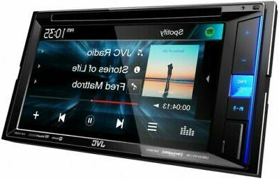 JVC Receiver Touch Screen Car Stereo 2DIN AM/FM Din
