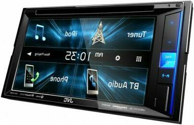 JVC Touch Screen Stereo 2DIN AM/FM Din