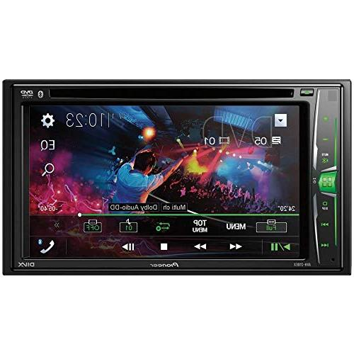 """6.2"""" Touchscreen DVD Receiver with Bluetooth"""