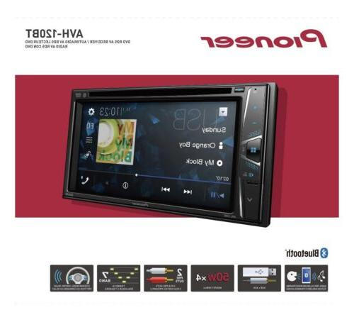 Pioneer 6.2 Double Din DVD/MP3/CD BRAND NEW