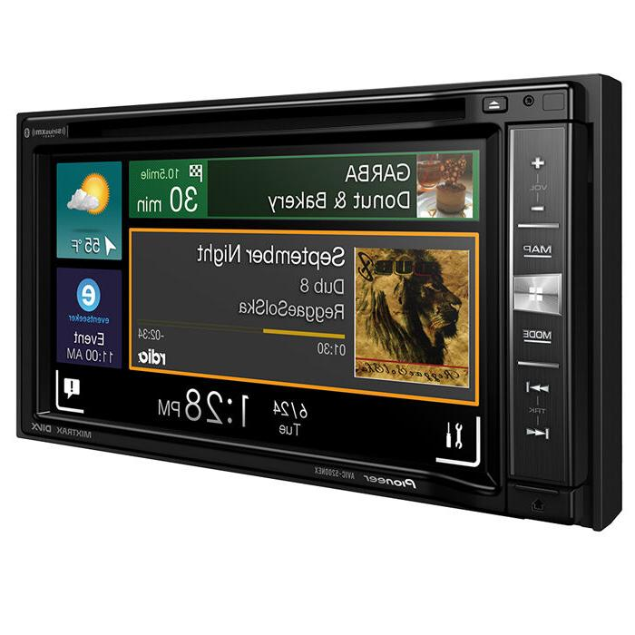 Pioneer AVIC-5200NEX Audio/Video GPS 6.2 - - Video CD/DVD - Text-to-Speech, Voice Assist, Speed Turn-by-turn - Bluetooth - Preloaded Maps WVGA