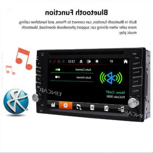 Backup Camera&GPS Double Car Stereo DVD Player with Map