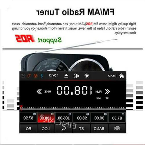 Backup Double 2*Din Car Stereo Radio DVD Player with