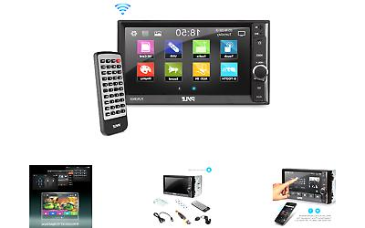 Pyle Car Audio Radio Receiver | Double Din Car Stereo | 6.5""