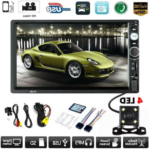 car mp5 player 7 double 2din bluetooth