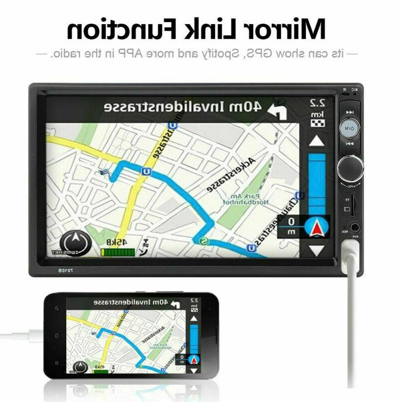 Bluetooth Audio Din IOS/Android