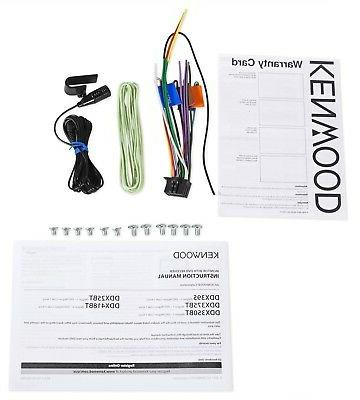 NEW Kenwood 2 DIN DVD/CD Player iPhone
