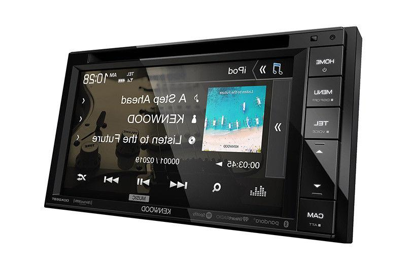 "KENWOOD DDX26BT 6.2"" DOUBLE DIN CAR DVD BLUETOOTH"