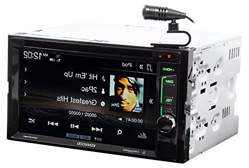"Kenwood DDX375BT 6.2"" Car iPhone/Android+Camera"