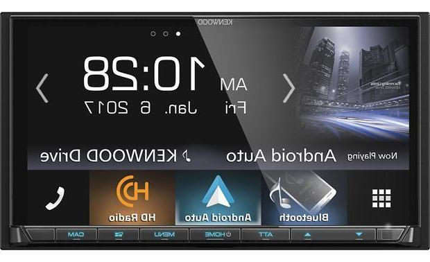 New Kenwood Double 2 Media Android iPhone HD Bluetooth