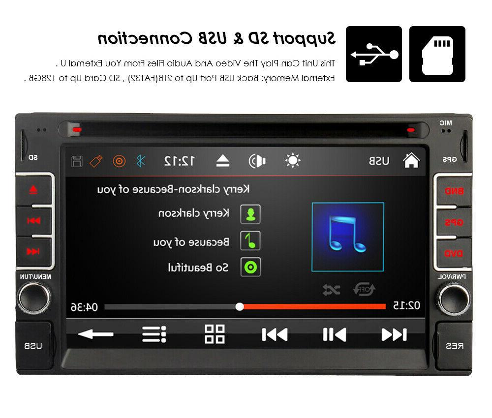 """Bluetooth Radio Double 6.2"""" Stereo Player BT"""