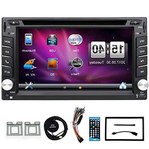 double 2 din touchscreen bluetooth