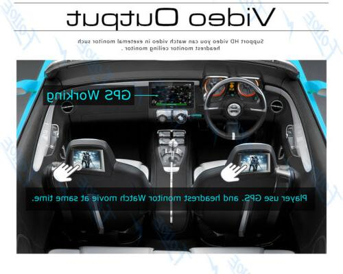 Double 2Din Android 9.0 Core Car Radio In Dash GPS 4G OBDII