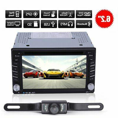 double 2din 6 2 stereo car dvd