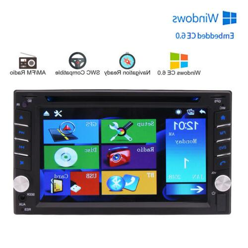 Backup Double Car Stereo mp3 Player Map