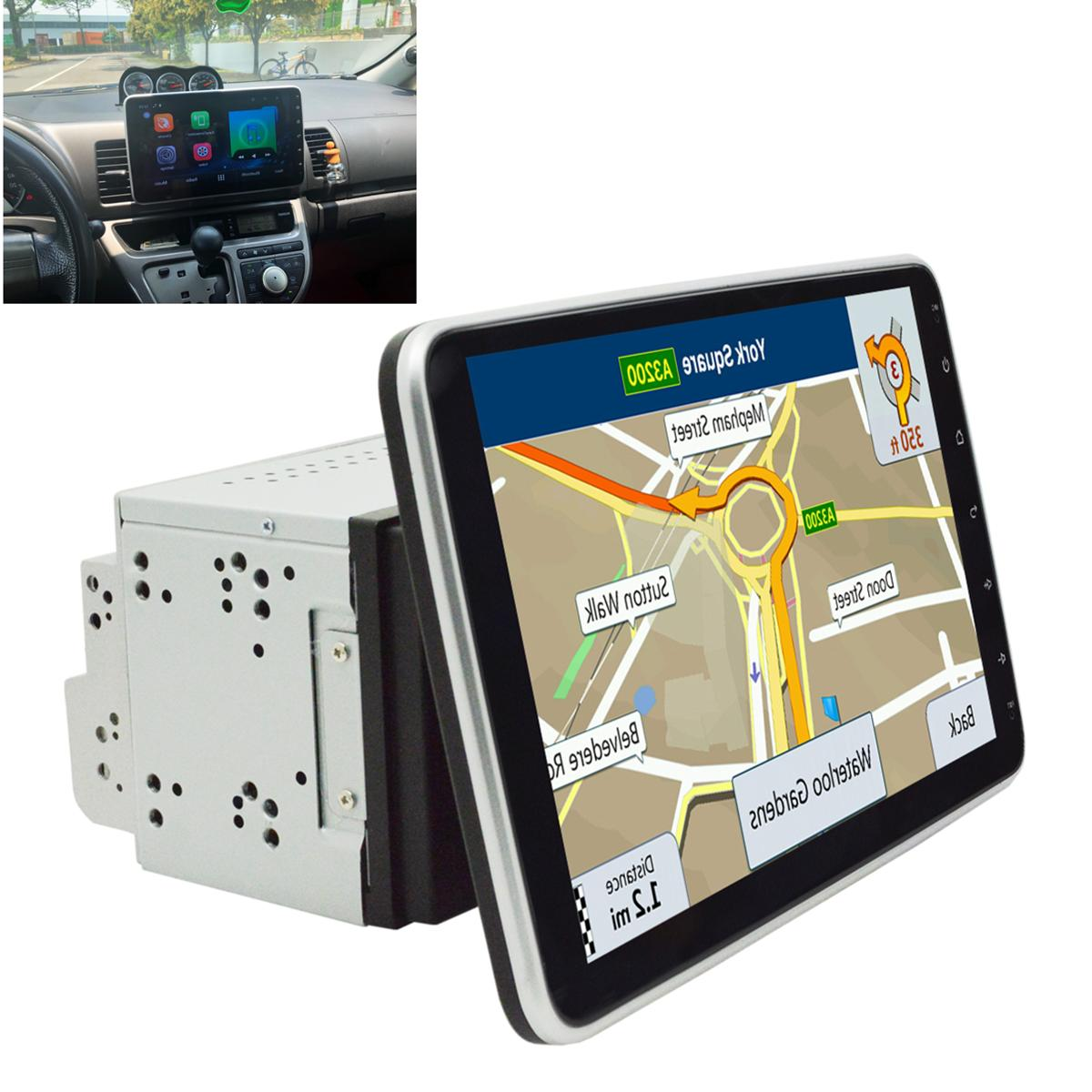 Double Android In Dash Car WiFi Quad