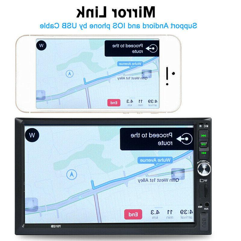 Touch Screen Stereo Radio MP5 FM Player with Rear US