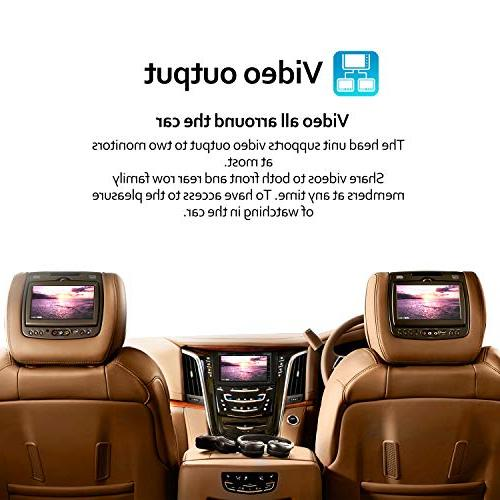 Double Stereo DVD inch Screen in Bluetooth WiFi GPS System