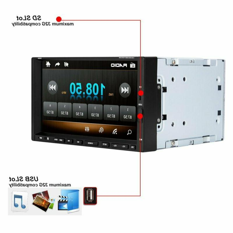 Ezonetronics Din Stereo 7 Touch Car