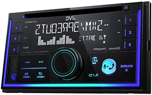 JVC KW-R930BTS 2-Din Car CD Player w/Bluetooth/USB/iPhone/Sirius Dash KIT W/Wiring Harness for Cadillac Chevrolet GMC Hummer Oldsmobile