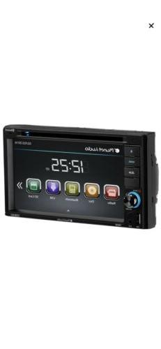 Double-DIN DVD Player 6.2 Touchscreen Bluetooth
