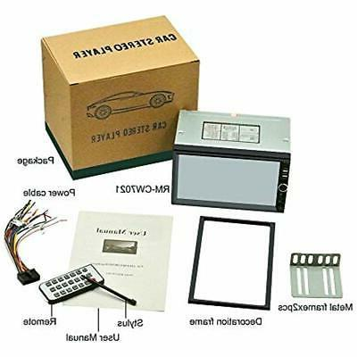 Double InDash DVD Video Din Stereo,Ezonetronics