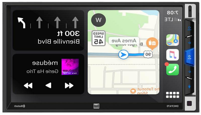 Dual 2-DIN Bluetooth Car Digital Multimedia Receiver