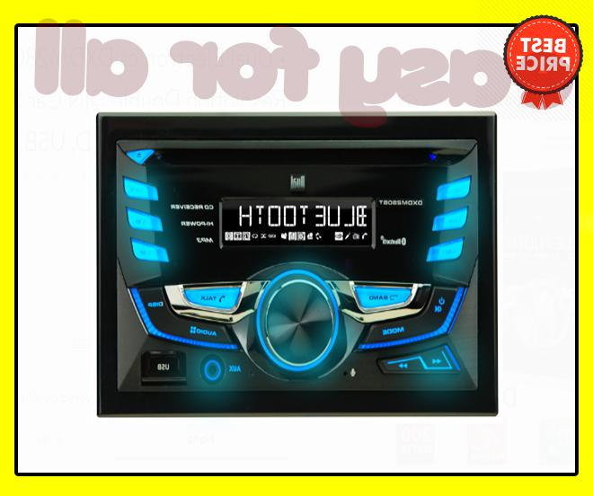 Dual Electronics Multimedia LCD Resolution DIN Stereo