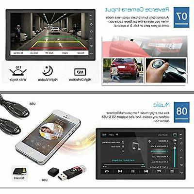 EZoneTronics Android Double Din Car Stereo Navigation Bluetooth