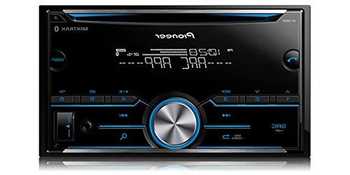 Pioneer FH-S500BT Bluetooth Stereo Receiver w/Pandora Tacoma Double Stereo Installation Mount