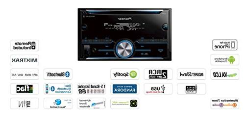 Pioneer Double DIN Bluetooth Stereo Toyota Tacoma Double Stereo Dash Mount