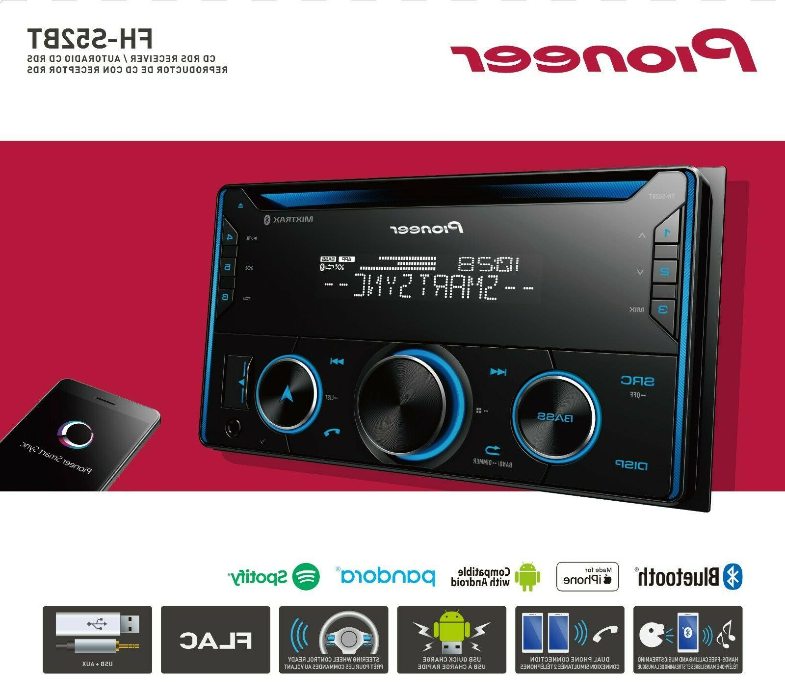 Pioneer Double Bluetooth Car New