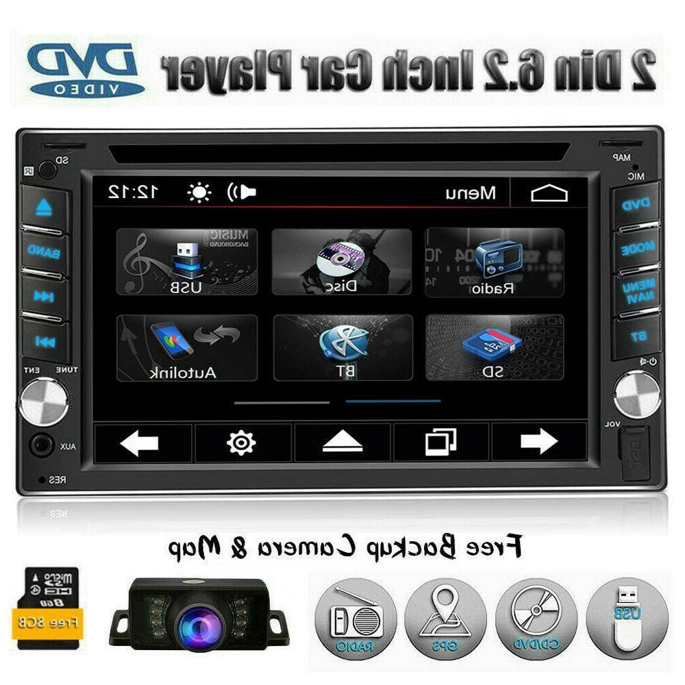 gps navigation with map bluetooth radio double