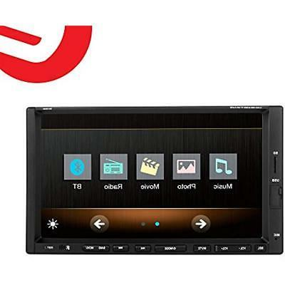 Ezonetronics 7-inch Double DIN Screen Player MP4 CW9301