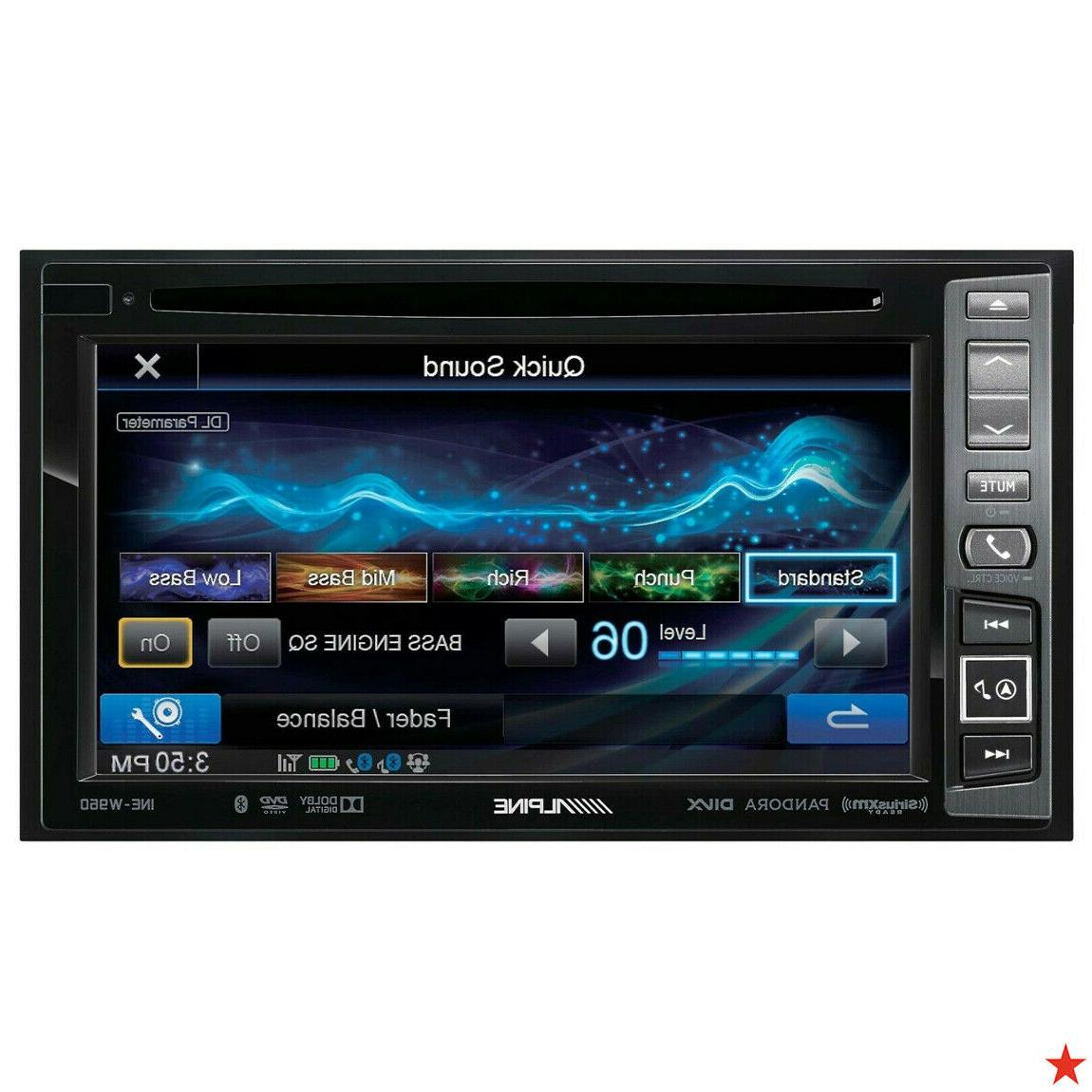 ine w960 double din dvd cd receiver