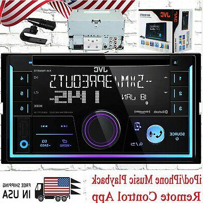 JVC KW-R930BTS 2-Din In-Dash Car Stereo CD Player w/Bluetoot