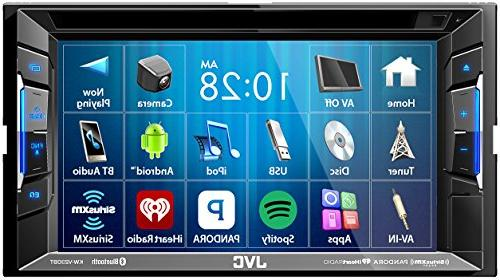 JVC BT/DVD/CD/USB with 6.2 with XM Camera and Steering Controls