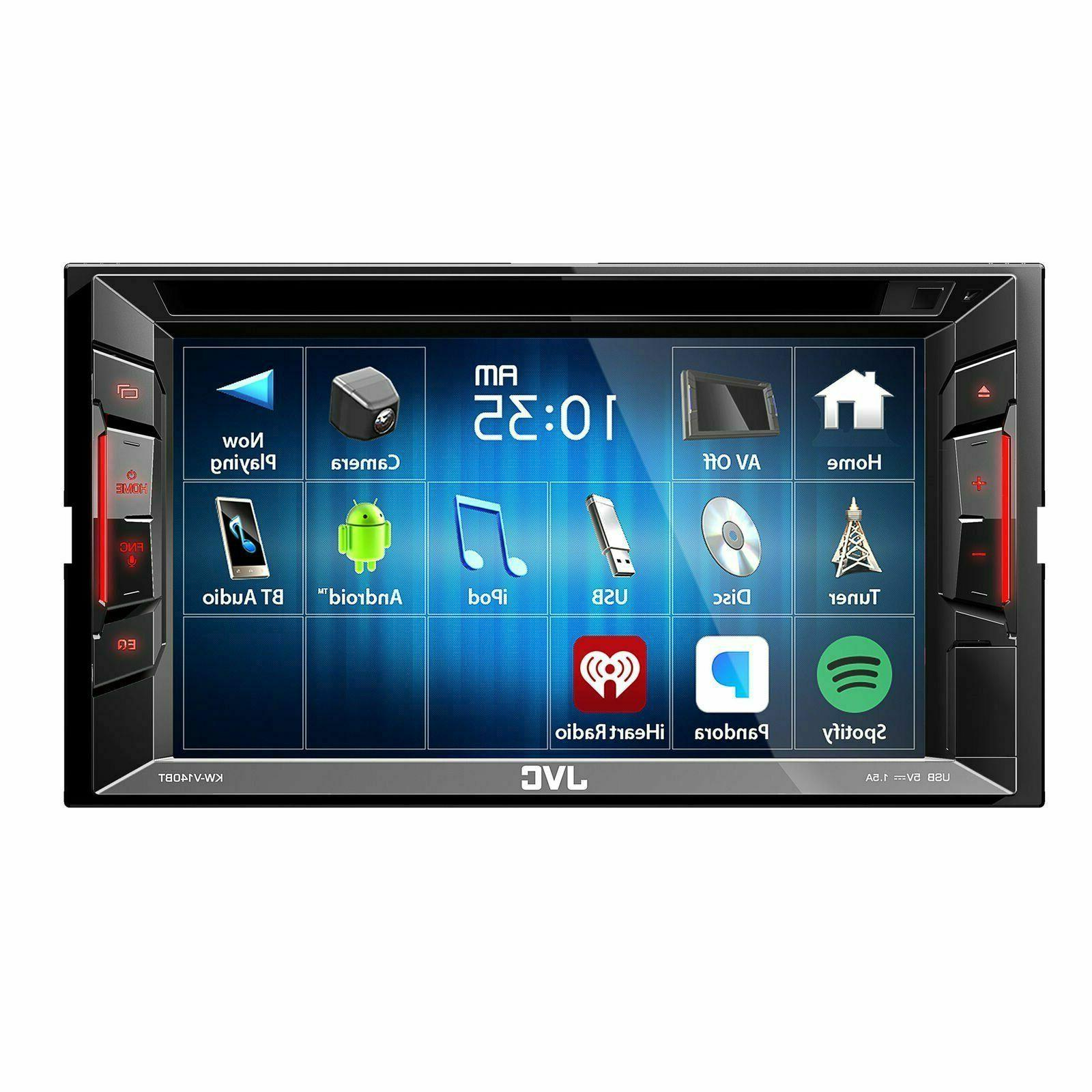 kw v25bt 6 2 touchscreen double din