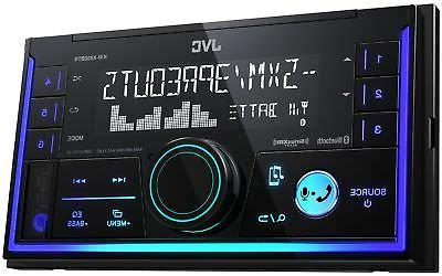 JVC KW-X830BTS 2-Din Digital Media Receiver featuring Blueto