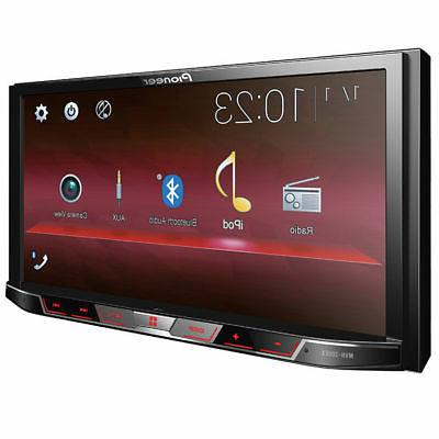 "Pioneer Double 2 DIN MP3/WMA Media Player 7"" Bluetooth USB"