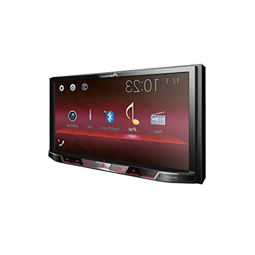 """Pioneer Double Multimedia 7"""" Touchscreen Display 2-DIN Combo for Full-Size"""