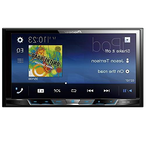 "Pioneer Digital Multimedia with 7"" WVGA Built-in Bluetooth 2-DIN Dash Kit Full-Size"