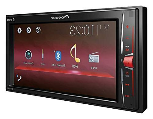 Pioneer Double DIN WVGA MP3 Display Rear USB Mechless in-Dash Digital Receiver