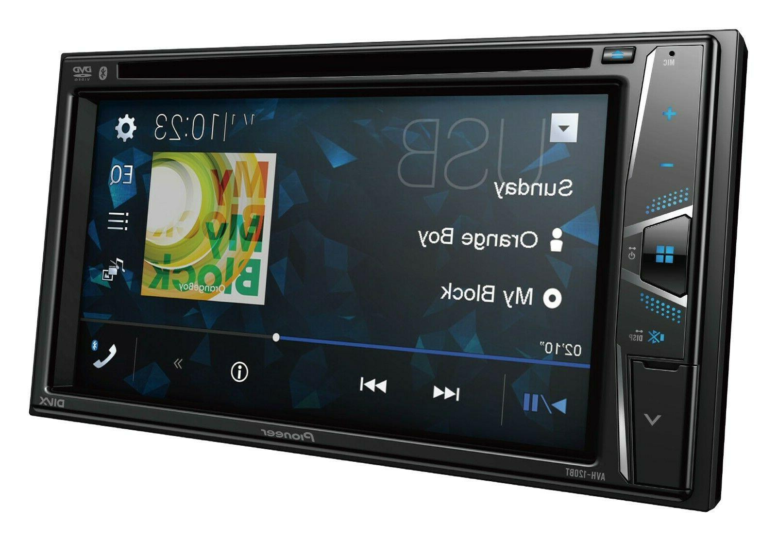 "NEW Double Din 6.2"" Touchscreen Bluetooth"