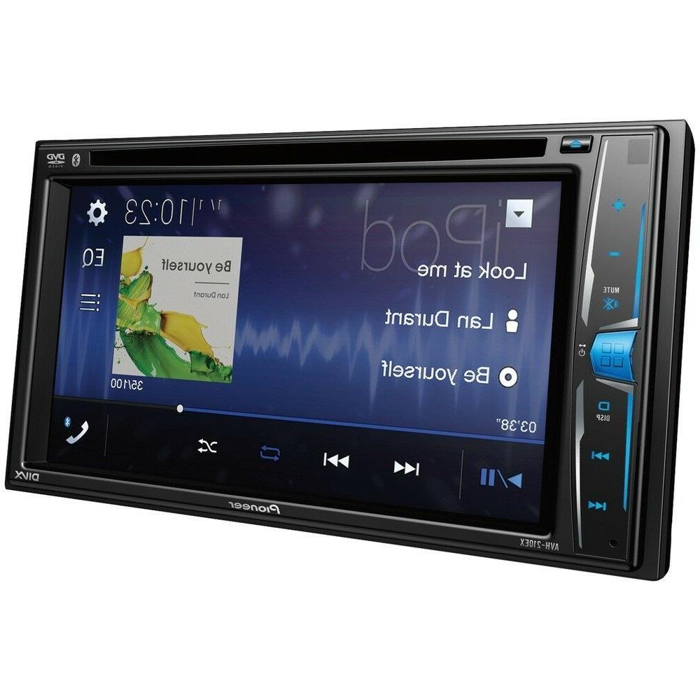 "NEW Double 2 Din Player 6.2"" Touchscreen Bluetooth"