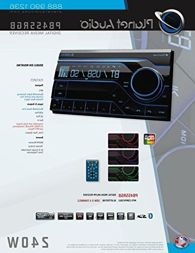 Stereo - Bluetooth, Radio, Multi Color Wireless