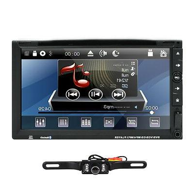 "Sony Lens 7""Car Stereo Player Bluetooth TV MP3 Mic"